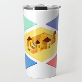 Isometric Royals Travel Mug