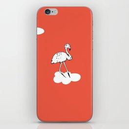 Flying Flamingo by McKenna Sanderson iPhone Skin
