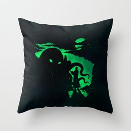 Summon Throw Pillow