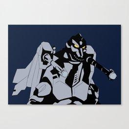Godzilla vs. Mechagodzilla II Canvas Print