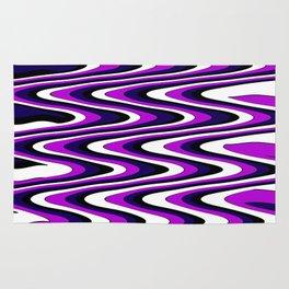 Purple slur Rug