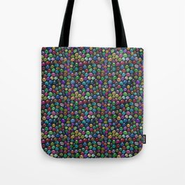 Candied Skulls Tote Bag
