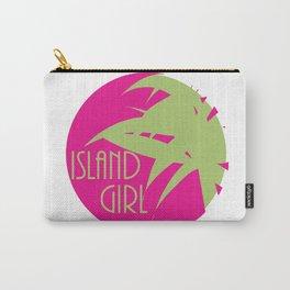 Island Girl Sun Logo Carry-All Pouch