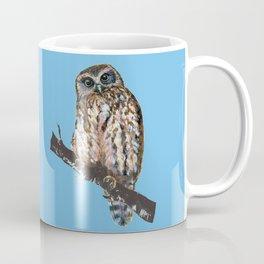 Mrs Ruru, New Zealand Morepork Owl Coffee Mug