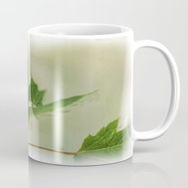 Painted Green Tree Frog Coffee Mug