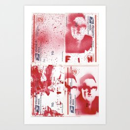 FIM - KISSINGER GONE POSTAL Art Print