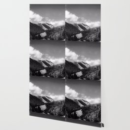 Big Sky Country - Black And White Wallpaper