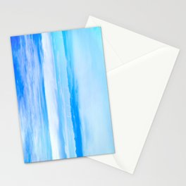 Heavenly Mountains In A Sea Of Clouds Stationery Cards