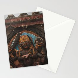 Temples and Architecture of Kathmandu City, Nepal 001 Stationery Cards
