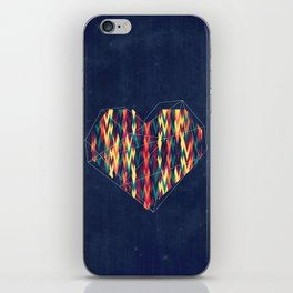 Interstellar Heart iPhone Skin