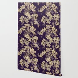 Blazing in Gold and Quenching in Purple Wallpaper