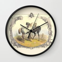 HORSE LOVE  Wall Clock