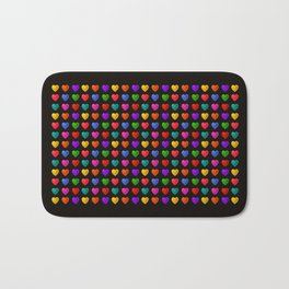 Sweet heart Pattern Bath Mat