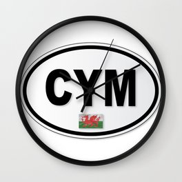 CYM Plate Wall Clock