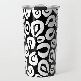LEOPARD! (black) Travel Mug