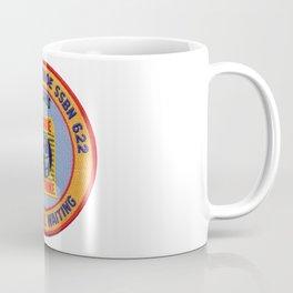 USS JAMES MONROE (SSBN-622) PATCH Coffee Mug