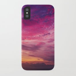 Red Sky Sunrise iPhone Case
