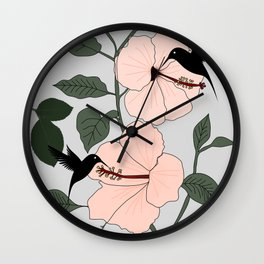 Vines of The Wild Wall Clock