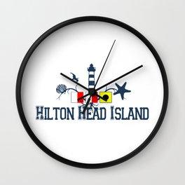 Hilton Head Island - South Carolina. Wall Clock