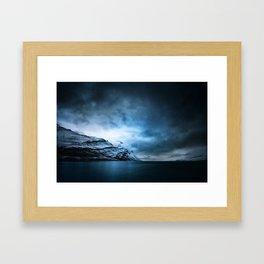 The Arctic - Storm Over Still Water Framed Art Print