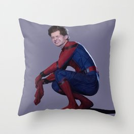 peter parker Throw Pillow
