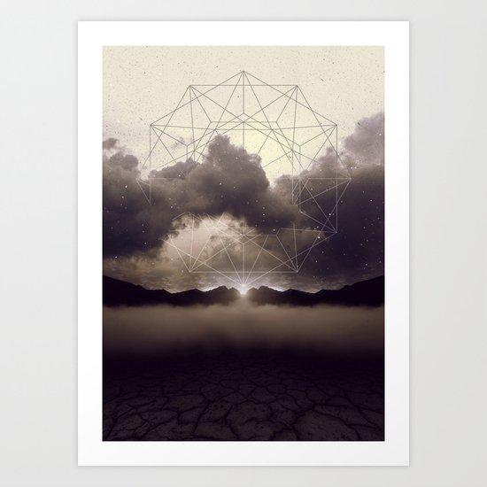 Beyond the Fog Lies Clarity | Dawn Art Print