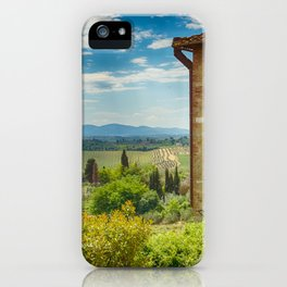 Tuscany, Italy iPhone Case