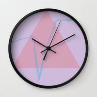 human Wall Clocks featuring Human by Nathaniel Johnson III