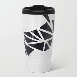 Geo Rhino (oil painting) Travel Mug