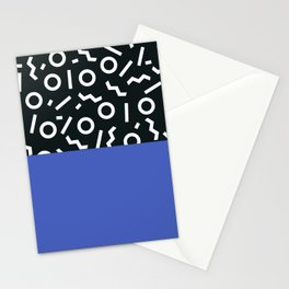 Memphis pattern 49 Stationery Cards