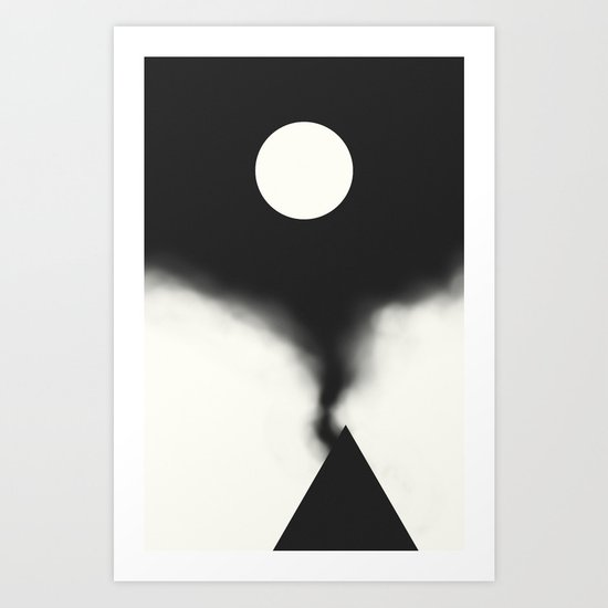Unlocking Art Print