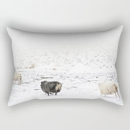 Icelandic Sheep V Rectangular Pillow