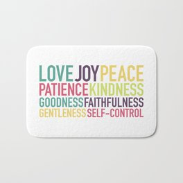 Fruits of the Spirit Bath Mat