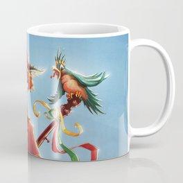 Fool but not stupid. Tarot Card redesign. Coffee Mug