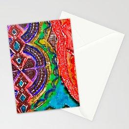 Pattern Frenzy Stationery Cards