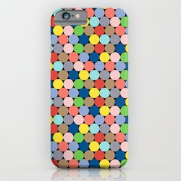 Colorful Geometric Pattern II iPhone Case
