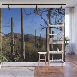 Saguaro Cactus at Picture Rocks II Wall Mural