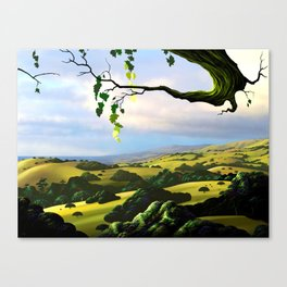 Into The Valley Canvas Print