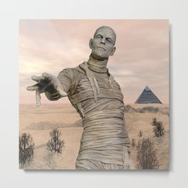 Curse of the Egyptian Mummy Metal Print