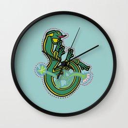 Celtic Medieval Frog Letter B 2020 Wall Clock