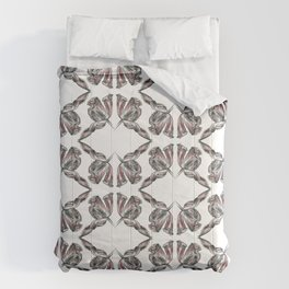 decadence flower pattern Comforters