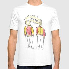 Ambitieux en varsity jacket T-shirt