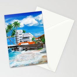 Isla Verde - $1M View, Carolina, San Juan, Puerto Rico Stationery Cards