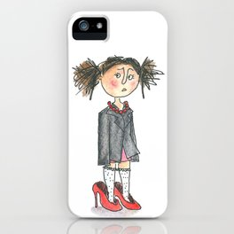 Being a child iPhone Case