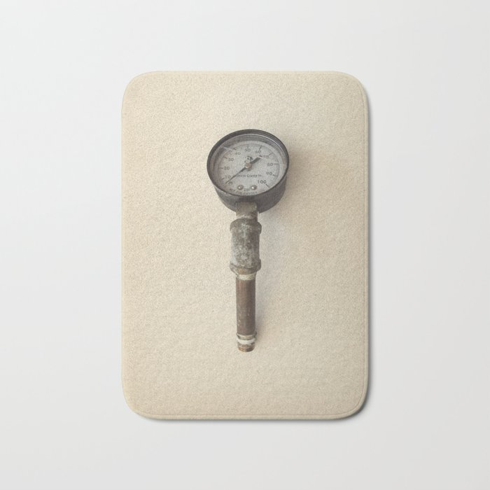 The Forgotten Workshop series- Pressure Gauge Bath Mat by jsquarepresents