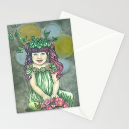 Baby quinn Stationery Cards