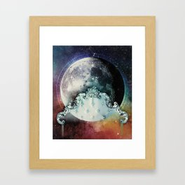 Astrolunography Beddybye Framed Art Print