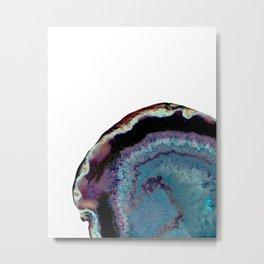 Geode Wave Metal Print