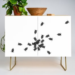Bugs: abstract Isopod Credenza