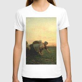 Jules Breton - The Weeders T-shirt